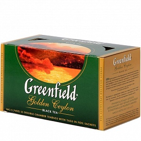 Чай Greenfild golden ceylon (25 пак)